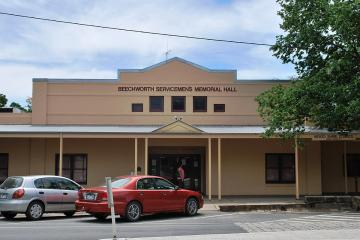 Beechworth Servicemen's Memorial Hall  Remain Anonymous