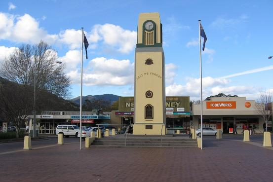 Bright War Memorial Clock Tower
