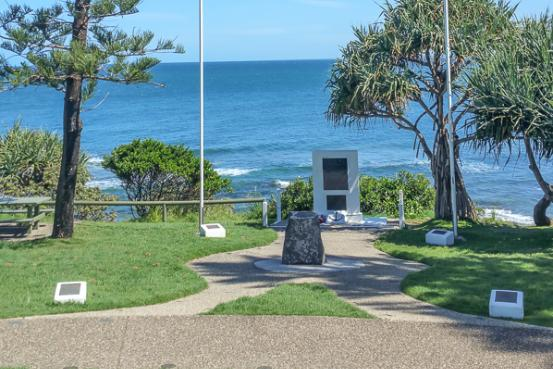 Centaur Park along the Caloundra Headland Memorial Walkway