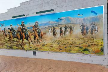 Esperance Battle of Beersheba Mural