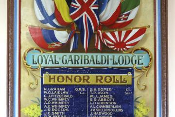 Tarnagulla MU IOOF Garibaldi Lodge Honor Roll