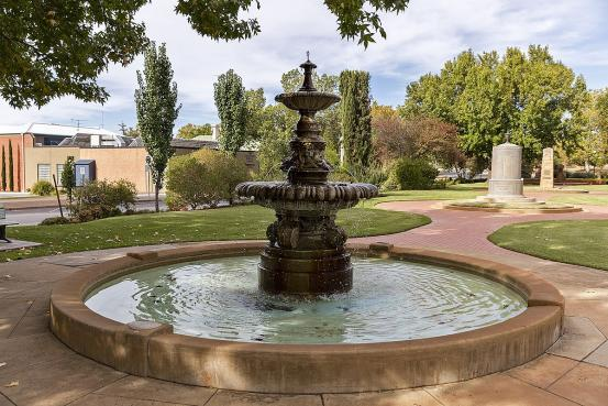 Hankinson Memorial Fountain