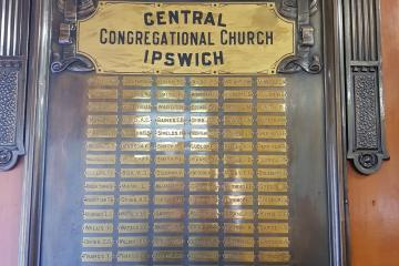 Ipswich Central Congregational Church Roll of Honor