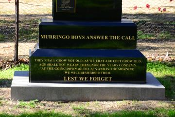 """Murringo Boys Answer the Call"""