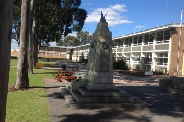 Perth Modern School shrine to Students who lost their lives in the First World War