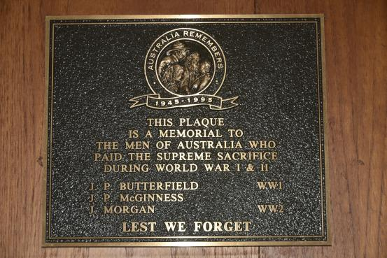Framlingham Honour Roll (Supreme Sacrifice)