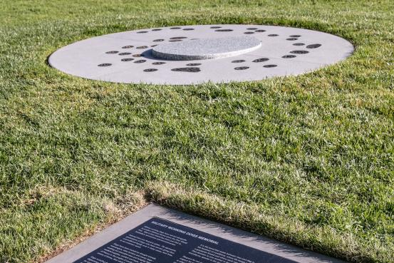 Circling to sleep memorial