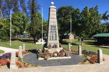 Canungra War Memorial, 08/05/2019
