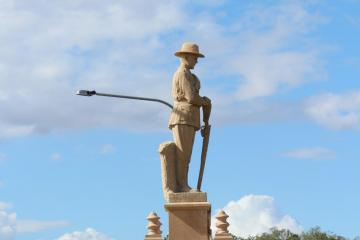 Gin Gin (Qld) War Memorial, 2015