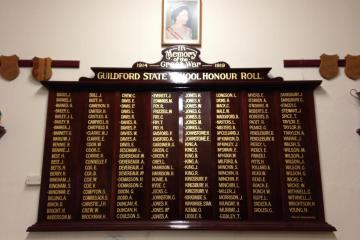 Guildford State School Honour Roll