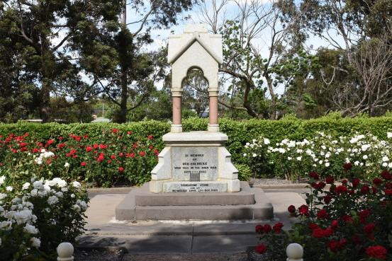 The Sale South African (Boer) War Memorial Drinking Fountain,
