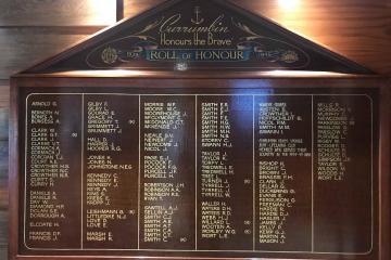 Currumbin RSL World War II Roll of Honour