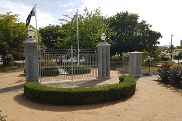 Soldiers Memorial Hospital Gates at the Memorial Park
