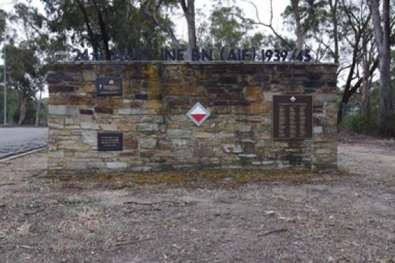 24 Infantry Battalion Wall