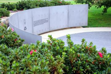 British Commonwealth Occupation Force in Japan Memorial Wall and Garden