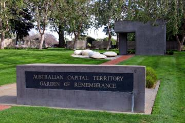 ACT Rememberance Garden and Walls located in Woden Valley general Cemetery