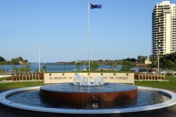 The Anzac Memorial Fountain