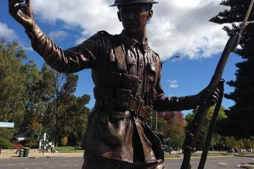 Albert (Alby) Lowerson VC Memorial