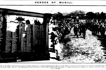 Heroes of Magill, The Observer, Adelaide, February 10, 1917.