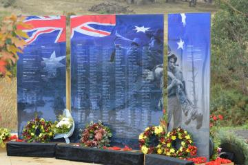 The Wandong Heathcote Junction War Memorial Anzac Day 2015