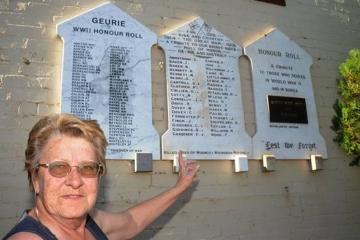 Lynne Palmer, a local history enthusiast