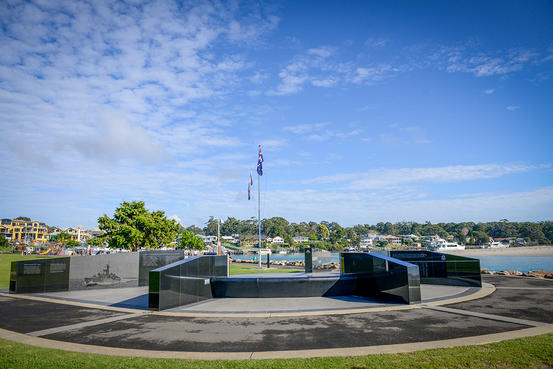 Court of Remembrance - Voyager Memorial Park, Huskisson NSW